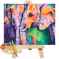 Картина за номерами 40 * 50 см Індійські фарби ТМ Ідейка (КНО2456)