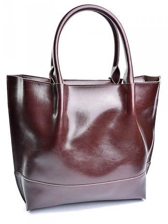 Жіноча сумка 8272 коричневая, фото 2