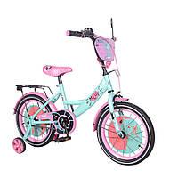 """Детский двухколесный велосипед 16"""" от 4 лет TILLY Meow для девочек"""
