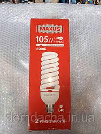 Лампочка Maxus 1-ESL-114-12 HWS 105W 6500K E40