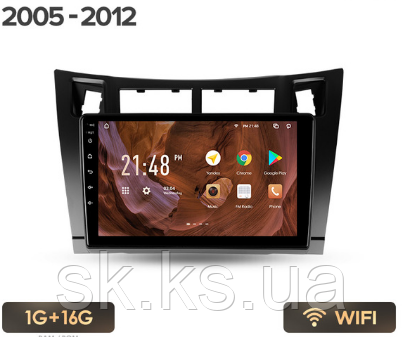 Junsun 4G Android магнитола для  Toyota  Yaris XP90 2005 - 2012