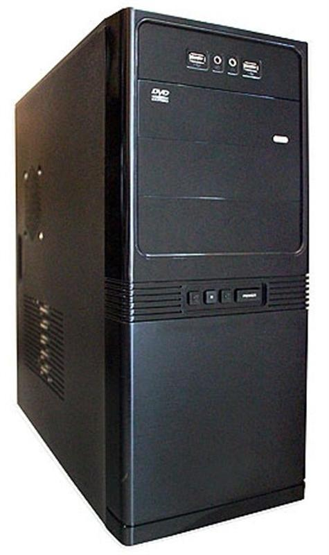 Корпус Delux MD206 450W Black 12Fan