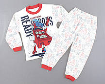 {есть:4 года 104 СМ,5 лет 110 СМ} Пижама для мальчиков,  Артикул: T4410-красный  [4 года 104 СМ]