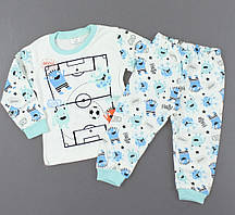 {есть:1 год 80 СМ,2 года 92 СМ,3 года 98 СМ} Пижама для мальчиков, Артикул: T1585 [1 год 80 СМ]