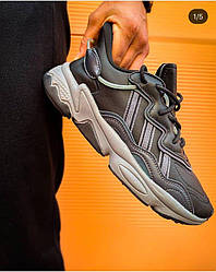 Кроссовки Adidas Ozweego adiPRENE Core Black Grey Four Onix