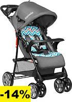 Детская прогулочная коляска Lionelo EMMA PLUS BLUE SCANDI Легкие детские прогулочные коляски