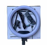 Светодиодная кольцевая селфи LED лампа с пультом AL-33 (33 см)   Кольцевой свет для телефона