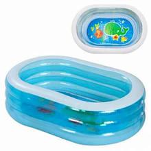 Дитячий надувний басейн Intex 57482 «Ніжність», 163 х 107 х 46 см
