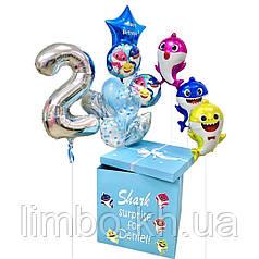 Коробка сюрприз Бейби шарк baby shark
