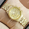 Стильные наручные часы Michael Kors Gold/Gold 1657