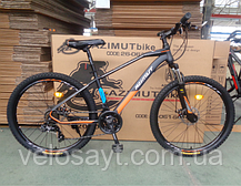 """Гірський велосипед Azimut Gemin 26"""" розмір рами 15,5"""" сіро-червоний, фото 2"""