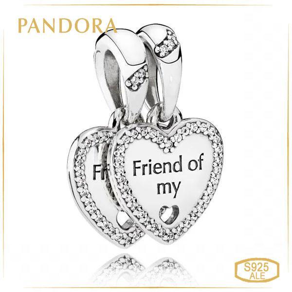 Пандора Підвіски Серця дружби Pandora 792147CZ