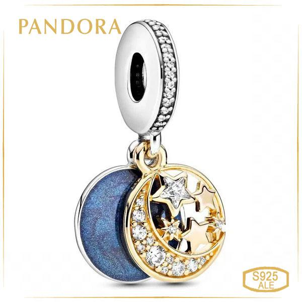 Пандора Підвіска Сиющая Місяць і зірки Pandora 761993C01