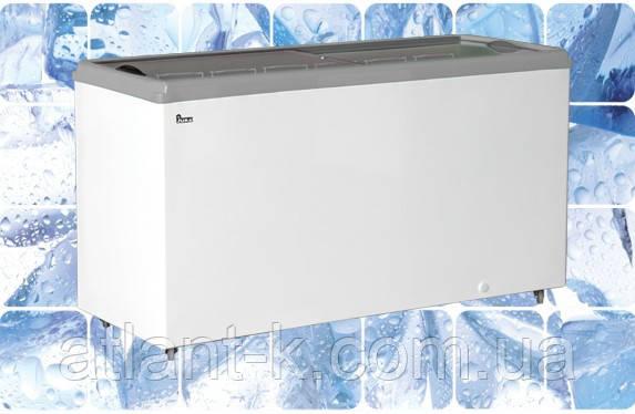 Морозильный ларь JUKA  M 600 P  611 л, прямое стекло