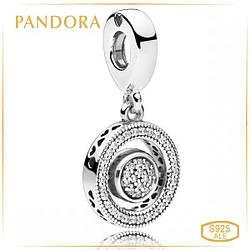 """Пандора Вращающаяся подвеска """"Логомания"""" Pandora 797430CZ"""