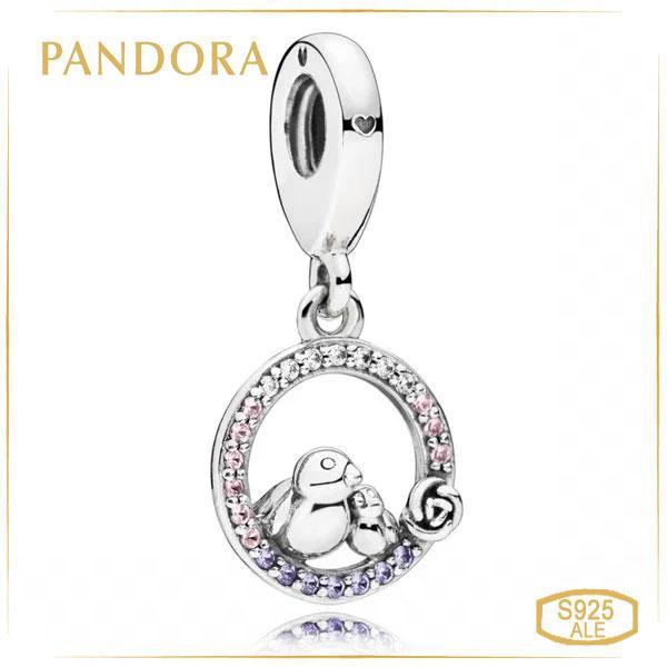 "Пандора Подвеска ""Птички"" Pandora 797060NPRMX"