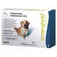 Краплі Стронгхолд Zoetis Stronghold 12% від бліх і кліщів у собак вагою від 20 до 40 кг, 2 мл (1 піпетка)