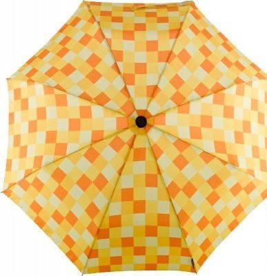 Женский зонт-автомат, антиветер EuroSCHIRM Light Trek Automatic flashlite 3F32-CWS3/SU18260 оранжевый