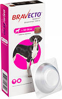 Жевательная таблетка Бравекто от блох и клещей для собак 40 - 56 кг