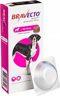 Жувальна таблетка Бравекто від бліх та кліщів для собак 40 - 56 кг