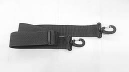 Знімний плечовий ремінь для тубуса універсальний Kibas 1 м Чорний