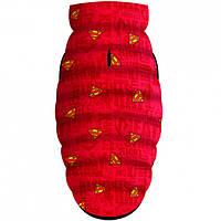 """Waudog Куртка для собак Мультисезонная """"Supermen red"""", розмір XS-22, 0922-4007"""