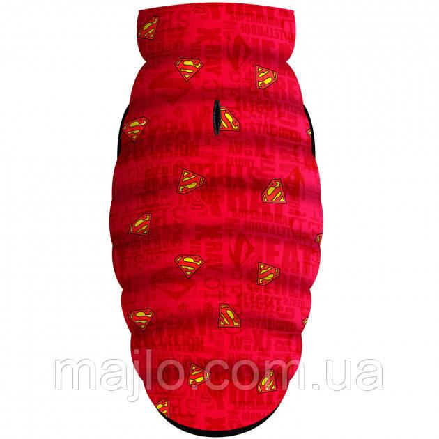 """Waudog Куртка для собак Мультисезонная """"Supermen red"""",  размер XS-22, 0922-4007"""