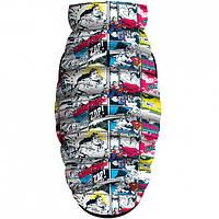 """Waudog Куртка для собак Мультисезонная """"Supermen comics"""", розмір L55, 0955-4006"""