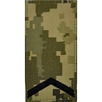 Погон ЗСУ, польовий, старший солдат