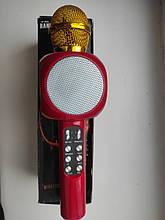Мікрофон Karaoke DM 1816 червоний