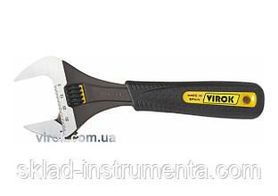"""Ключ розвідний VIROK 8"""" 200 мм"""