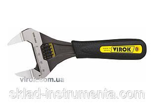 """Ключ розвідний VIROK з тонкими губами 6"""" 150 мм"""