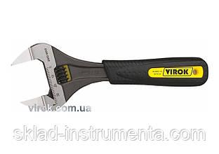 """Ключ розвідний VIROK з тонкими губами 8"""" 200 мм"""
