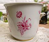 Винтажная фарфоровая ваза под цветочный горшок, кашпо, фарфор, Hutschenreuther, Германия, винтаж, фото 4