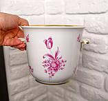 Винтажная фарфоровая ваза под цветочный горшок, кашпо, фарфор, Hutschenreuther, Германия, винтаж, фото 6