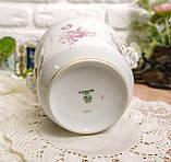 Винтажная фарфоровая ваза под цветочный горшок, кашпо, фарфор, Hutschenreuther, Германия, винтаж, фото 8