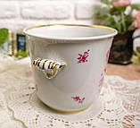 Винтажная фарфоровая ваза под цветочный горшок, кашпо, фарфор, Hutschenreuther, Германия, винтаж, фото 3