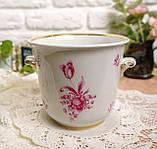 Винтажная фарфоровая ваза под цветочный горшок, кашпо, фарфор, Hutschenreuther, Германия, винтаж, фото 7