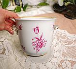 Винтажная фарфоровая ваза под цветочный горшок, кашпо, фарфор, Hutschenreuther, Германия, винтаж, фото 5