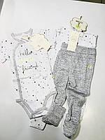Комплект боді+штани Cool Club 68 1345 сірі