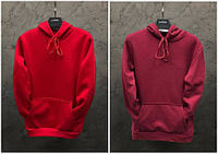 Парные худи Dekka Baza цвет красный и бордо