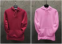 Парные худи Dekka Baza цвет бордо и розовый