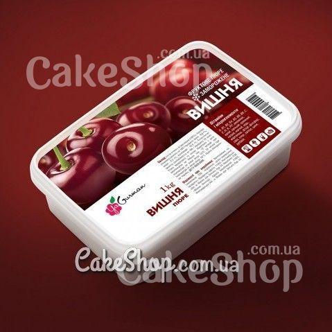 Замороженное пюре вишни без сахара YaGurman, 1кг