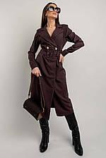 """Трендовое платье-пиджак """"ИРМА""""  c 42 по 52 размер (rimar)"""