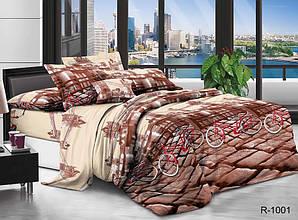 Двуспальный комплект постельного белья Ранфорс R1001