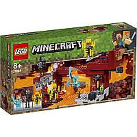 """Конструктор Майнкрафт Bela """"Мост Ифрита"""" (аналог Lego Майнкрафт, Minecraft 21154), 378 дет (S6)  S1"""