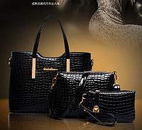 Женский набор из 3 сумок и сумочек С 060-И