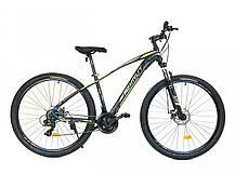"""Горный велосипед Azimut Nevada 26""""  размер рамы 15,5"""" черно-белый, фото 2"""