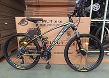 """Горный велосипед Azimut Nevada 26""""  размер рамы 15,5"""" черно-белый, фото 3"""