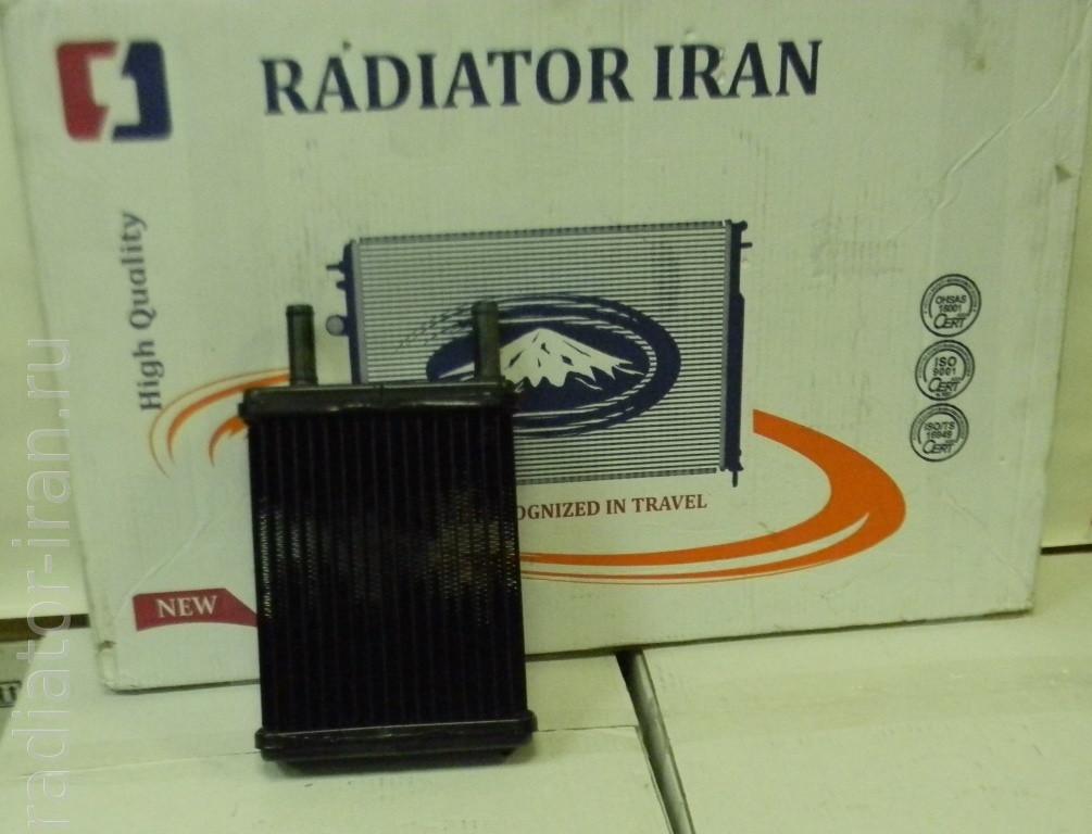 Радіатор отопітеля печі ГАЗ Волга 2410 16 мм мідний 3ух рядний